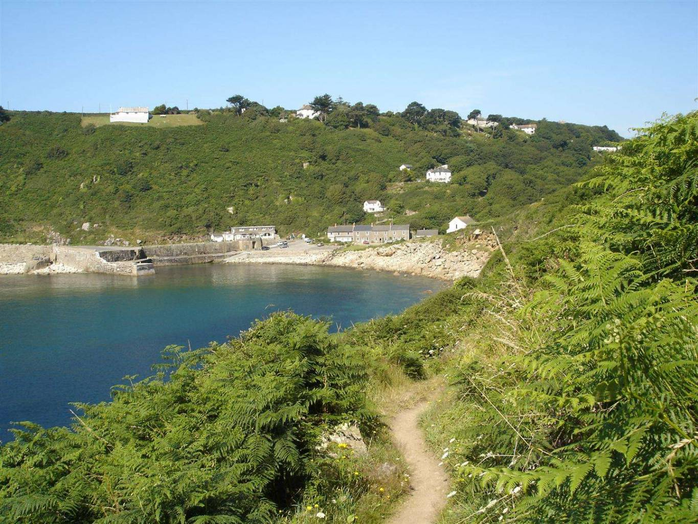 South West Coast Path to Lamorna Cove