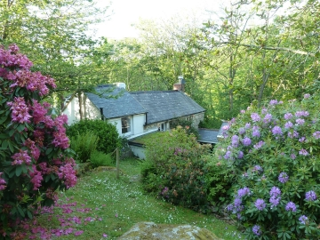 Cappy Cottage - From upper garden